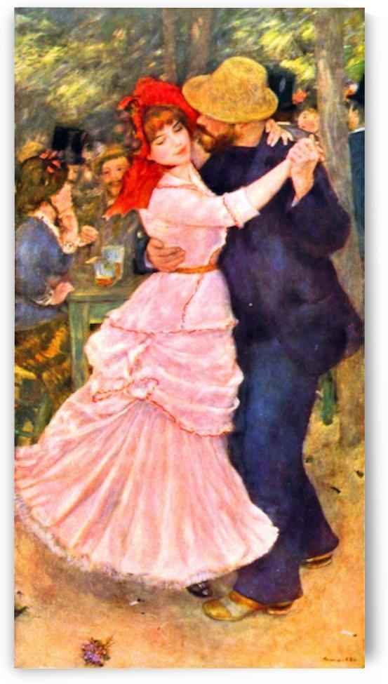 Dance in Bougival by Renoir by Renoir