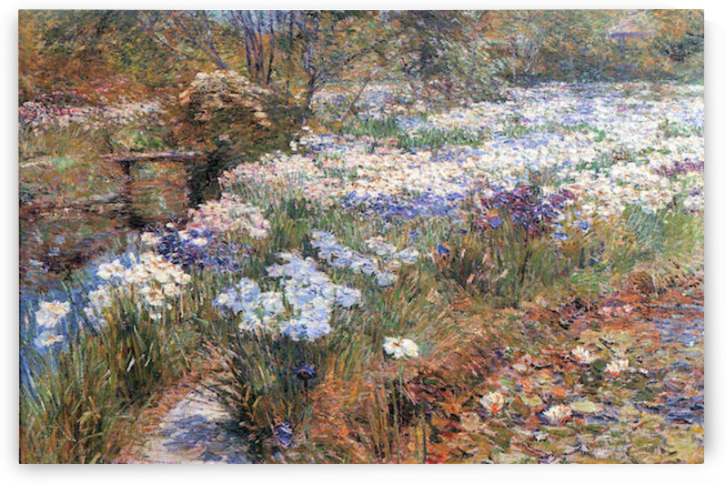 The water garden by Hassam by Hassam