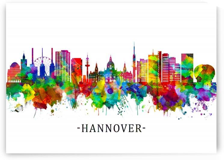 Hanover Germany Skyline by Towseef Dar