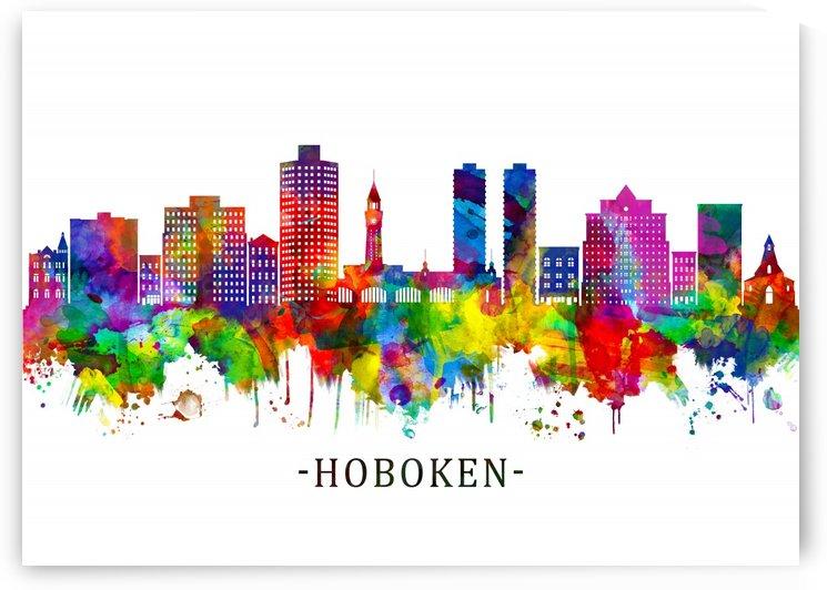 Hoboken New Jersey Skyline by Towseef Dar
