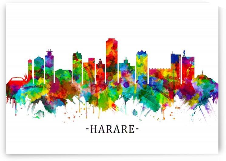 Harare Zimbabwe Skyline by Towseef Dar