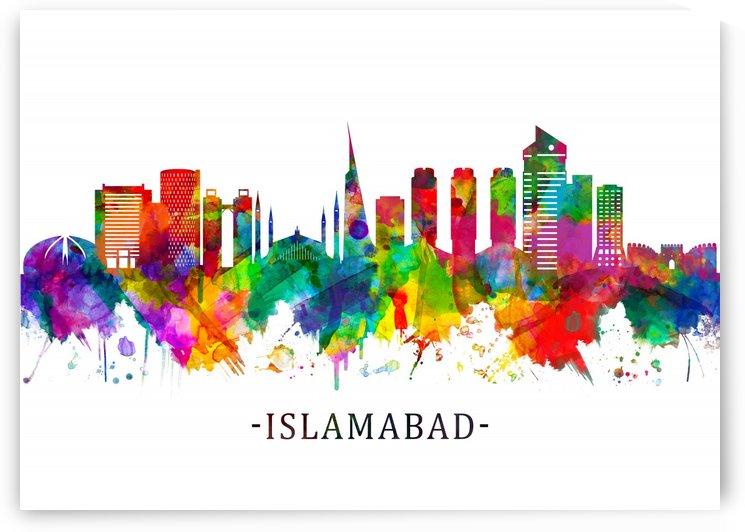 Islamabad Pakistan Skyline by Towseef Dar