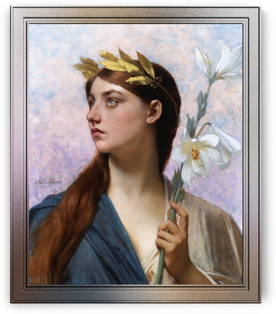 An Allegory of Victory by Jules Joseph Lefebvre by xzendor7