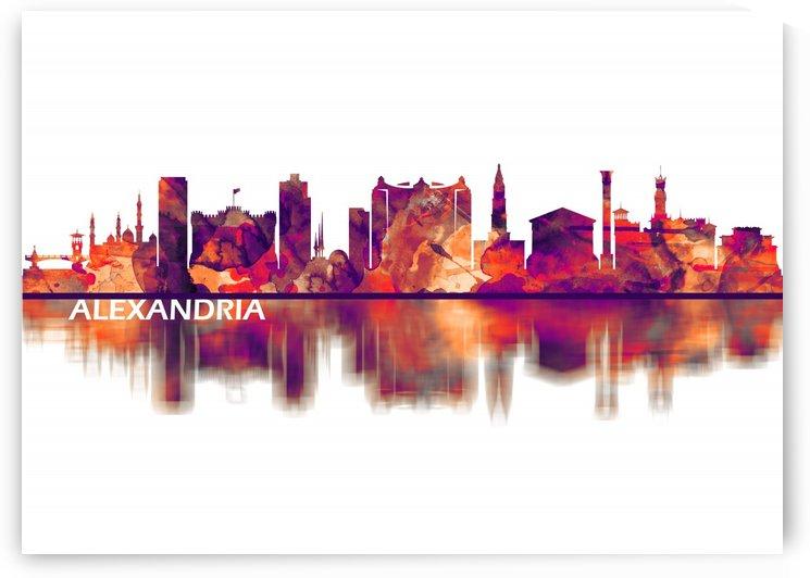 Alexandria Egypt Skyline by Towseef