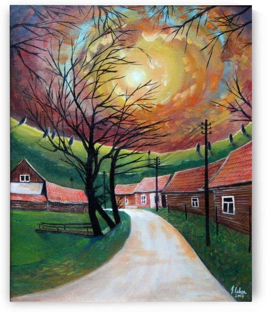 Village nostalgia by Joseph Coban