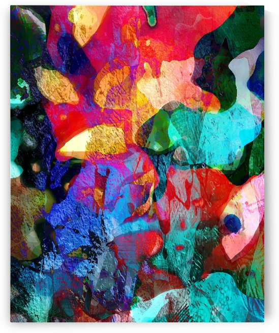 Coral Reef II by Connie Schofield Art