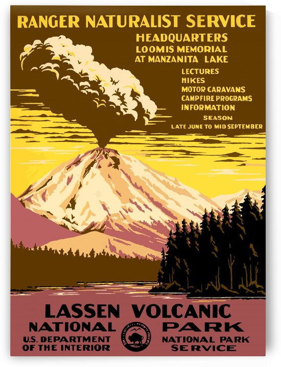 USA Lassen Volcanic National ParkEdited by Culturio