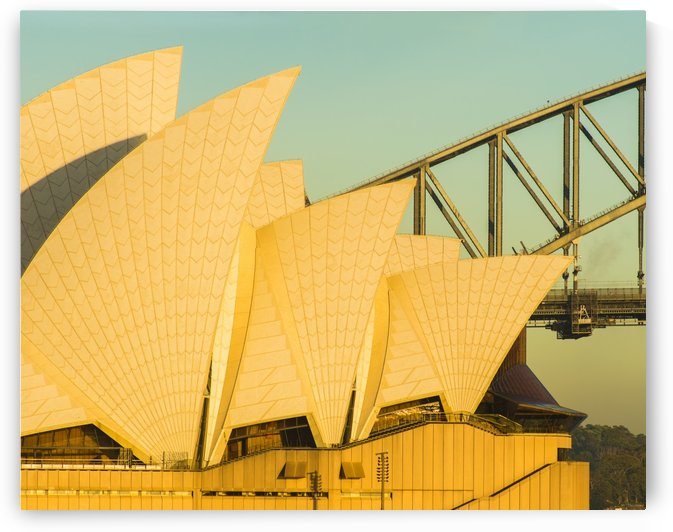 Sail detail on the Sydney Opera house. by Downundershooter