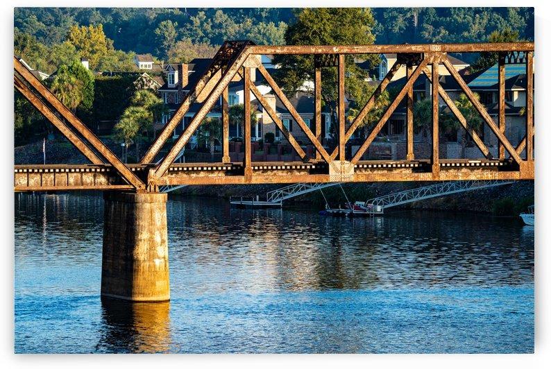 Sixth Street Bridge Augusta GA by @ThePhotourist