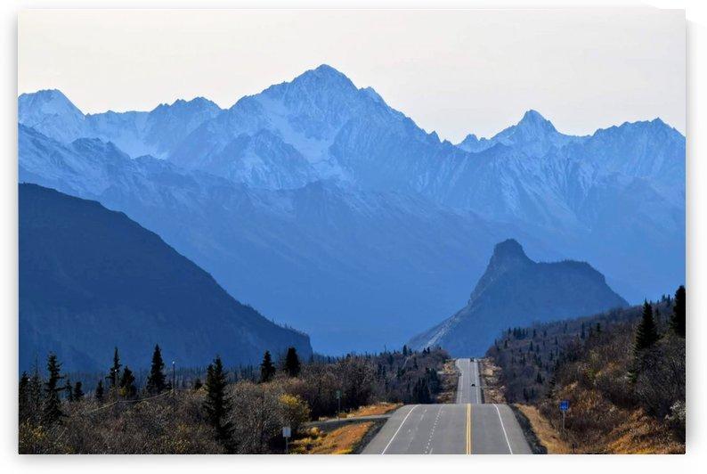 Rocky mountains AK by Stuart Spofford