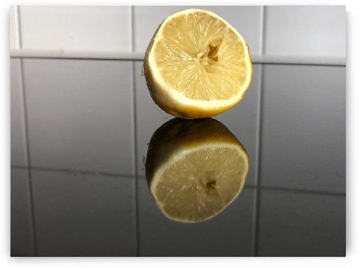 Fresh Juicy Lemon Cut by Swiss Art by Patrick Kobler