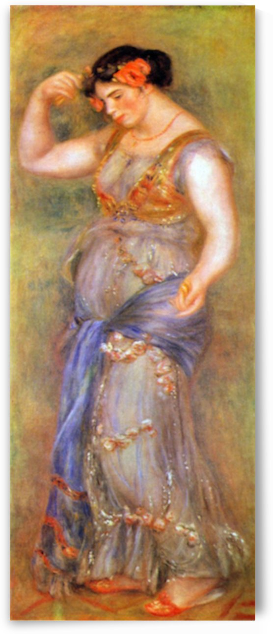 Dancer with castanets by Renoir by Renoir