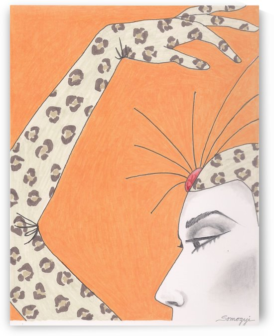 The Girl in the Leopard Costume by Jayne Somogy