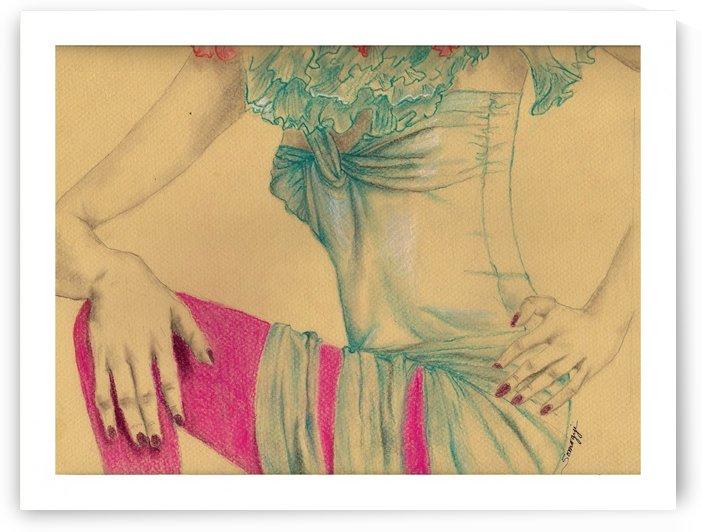 Torso in Turquoise by Jayne Somogy