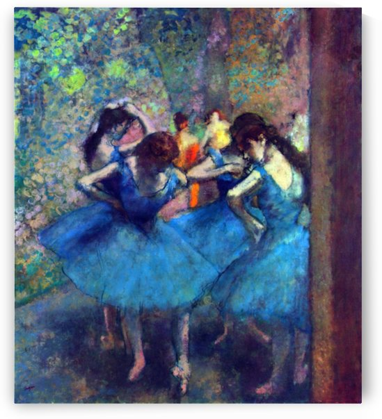 Dancers 1 by Degas by Degas