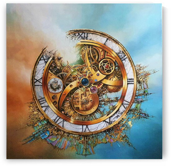 MYSTERY OF TIME    by Robert Zietara