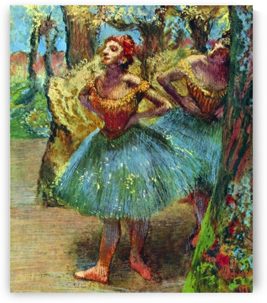Dancers 2 by Degas by Degas
