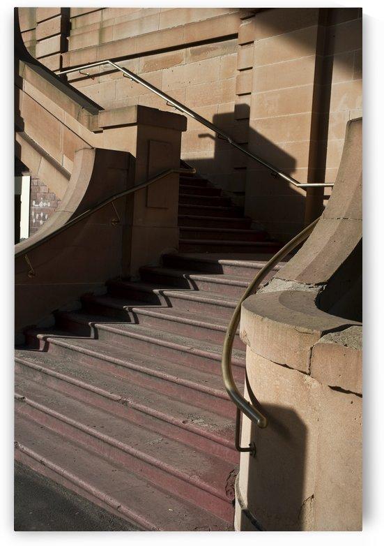 Sandstone stairway The Rocks Sydney by Downundershooter