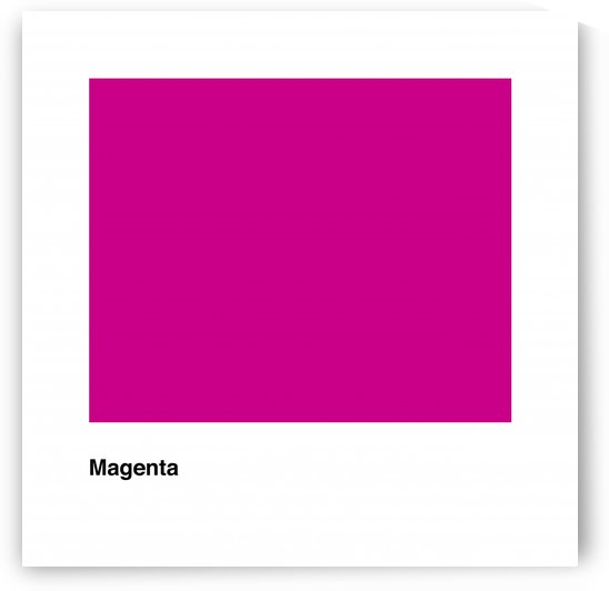 Solid Magenta Process color by Downundershooter