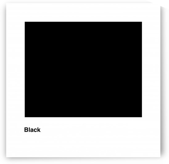Solid Black process color with word by Downundershooter