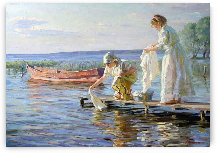 Laundry by Alexander Averin