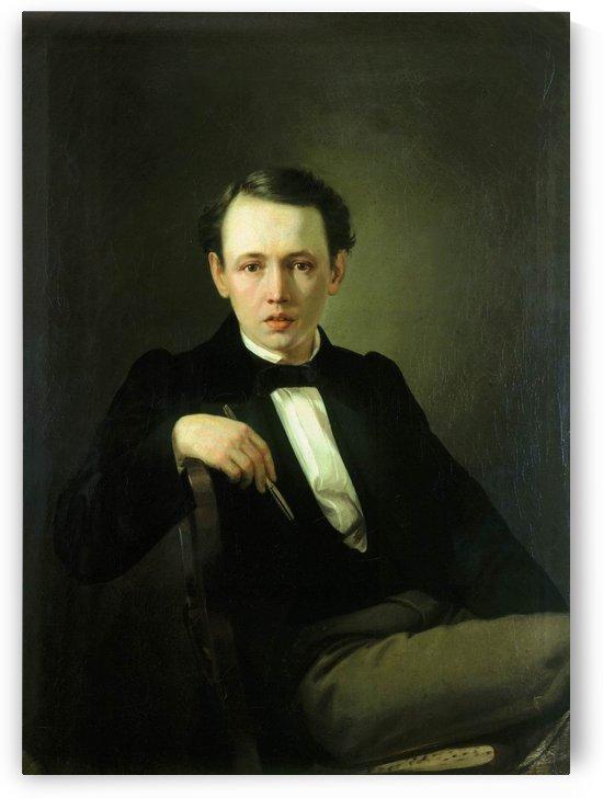 Vasily Petrov by Vasily Grigorievich Perov