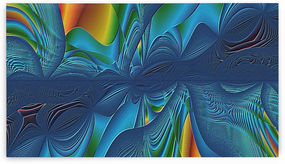 Chaos bleu Blue chaos by Createm