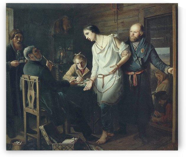 Priezd Stanovogo by Vasily Grigorievich Perov