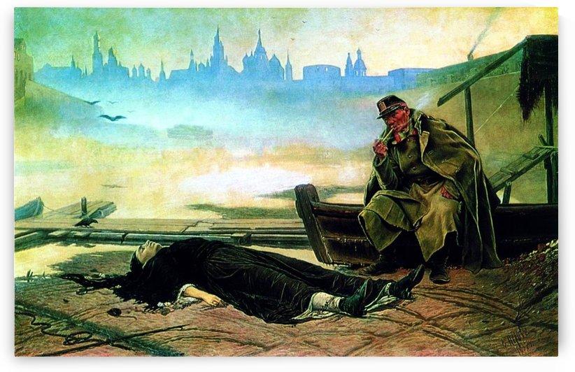Perov drowned by Vasily Grigorievich Perov