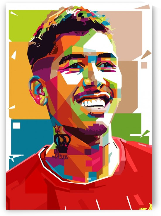Roberto firmino by artwork poster
