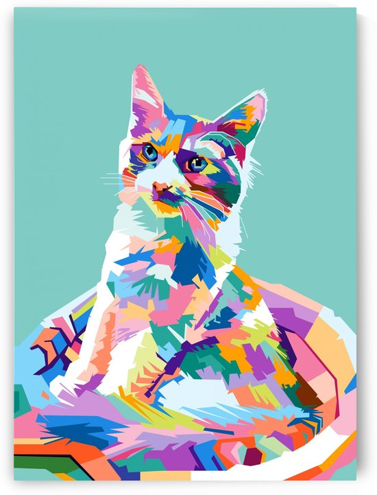 cats by artwork poster