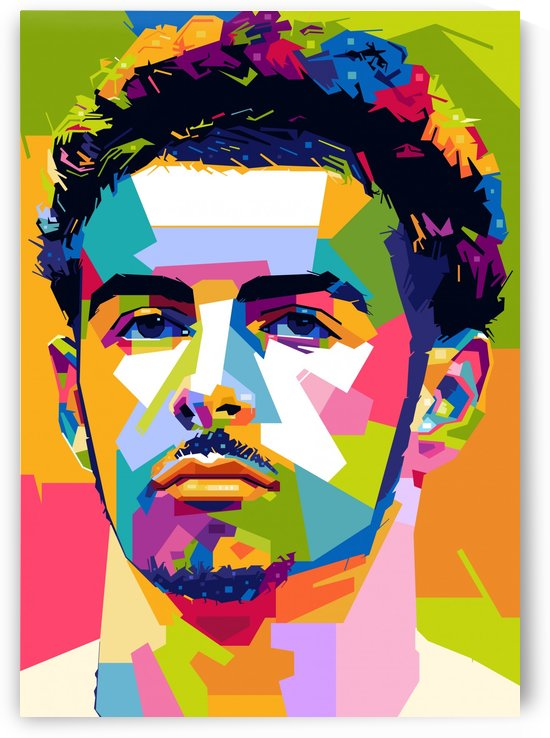 Curtis jones by artwork poster