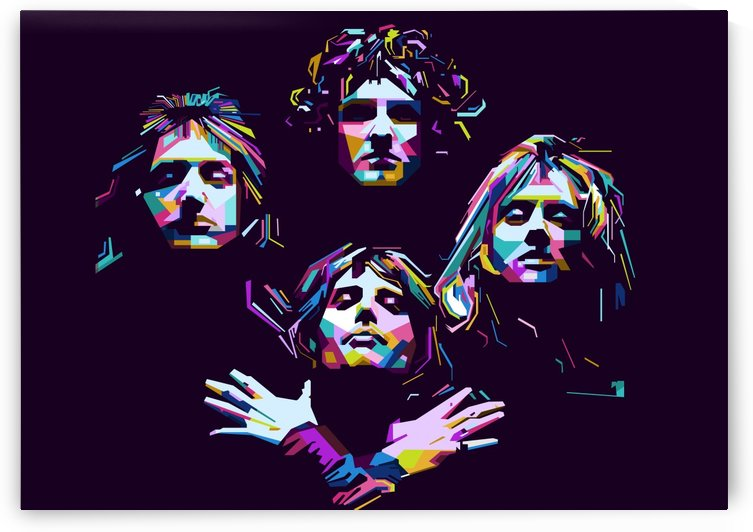 Queen by artwork poster