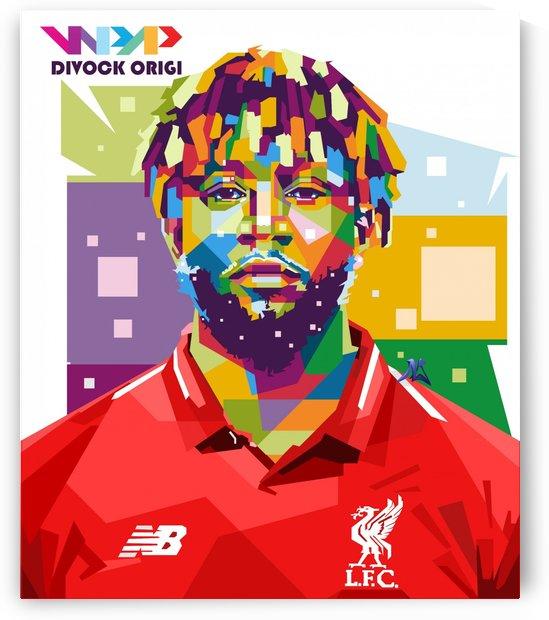 Divock origi by artwork poster