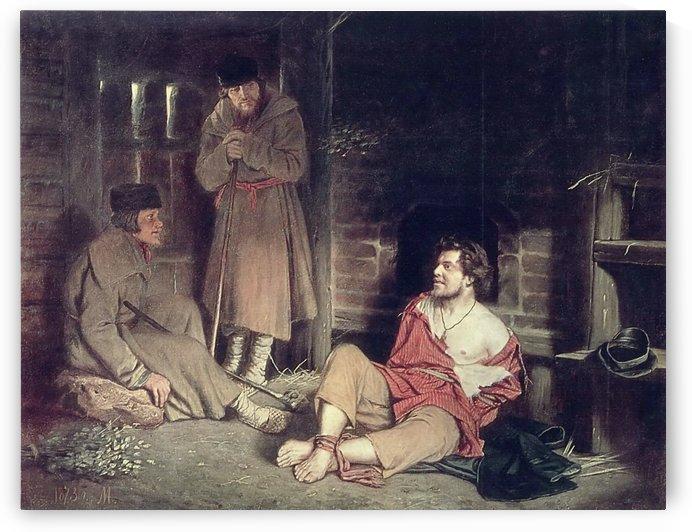 Otpetiy 1873 by Vasily Grigorievich Perov