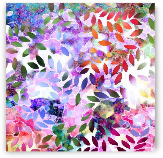 Dancing Leaves by Connie Schofield Art