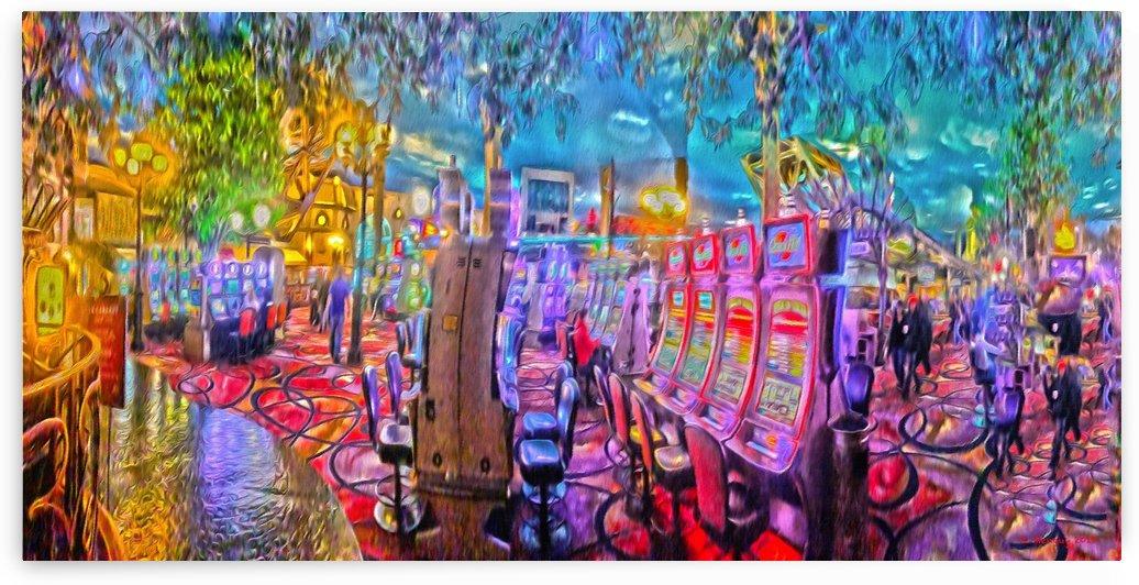 Paris Las Vegas Casino by Mentari Arts