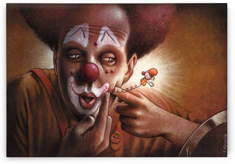 clown by Pawel Kuczynski