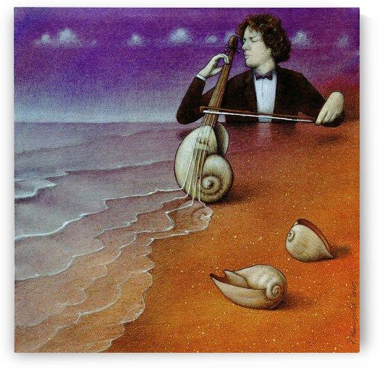Violin inspiration by Pawel Kuczynski