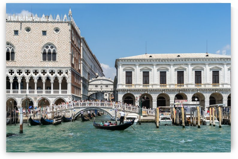 Classic Venetian - Doges Palace Prisons Palace and the Bridge of Sighs by GeorgiaM