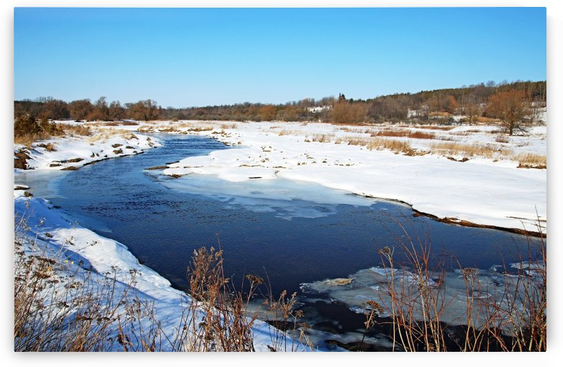 Grand River Wilsons Flats by Deb Oppermann