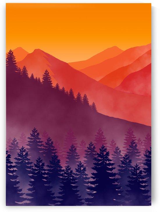 Flat Landscape Mount 4 by Masahiro Art