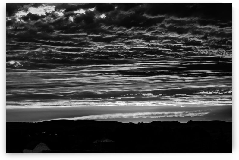Almost Awesome Sunset.BW by Garald Horst