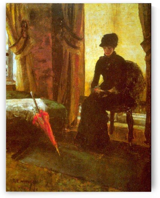 Dejected Lady by Ensor by Ensor