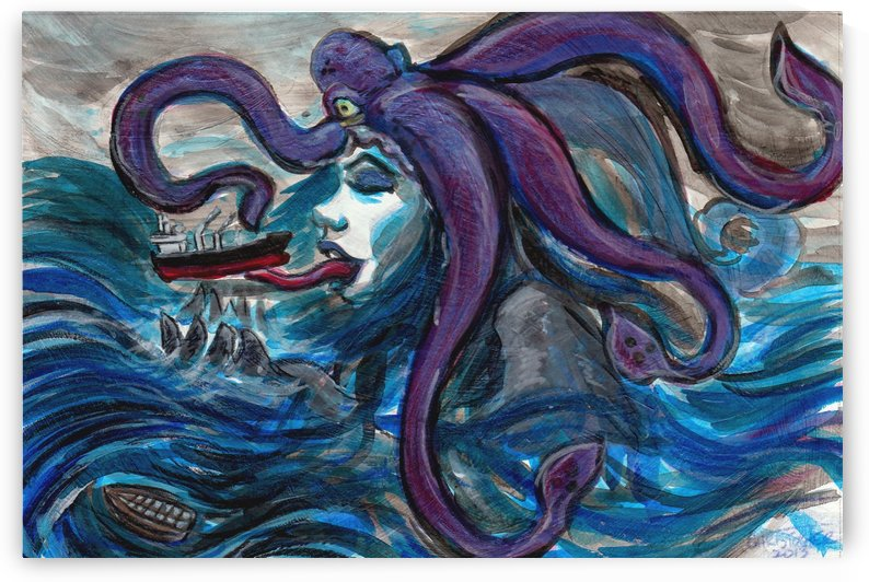 Sea Monster, 1 by Christopher Chamberlain