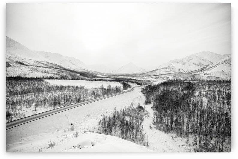 Kolyma Highway in Yakutia by Pavel Gospodinov