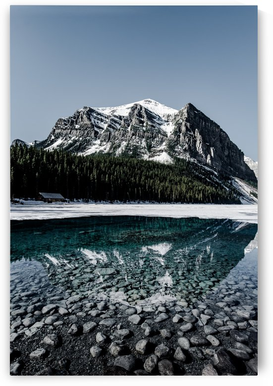Lake Louise Reflection by Lucas Moore