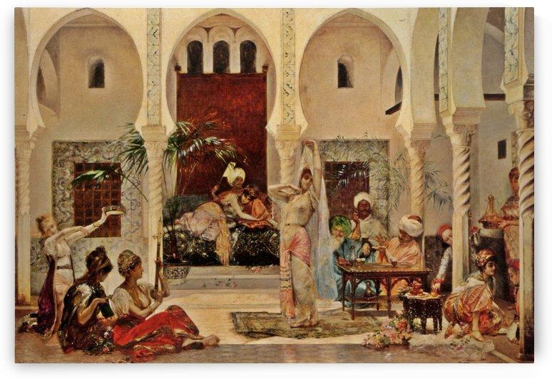 In the Harem by Frederick Arthur Bridgman