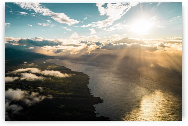Maui From Above by Lucas Moore