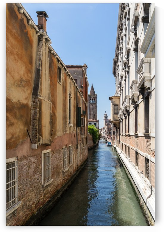 Classic Venetian - Palaces Church Towers and Side Canals by GeorgiaM